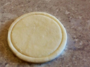 Disc of pastry