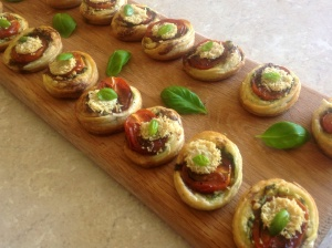 Tomato & Pesto Canapés