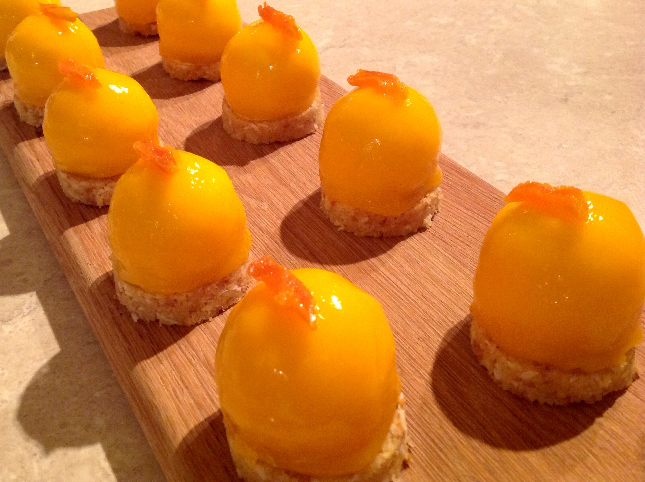 Mango Amp Passionfruit Cheesecakes Domes Phil S Home Kitchen