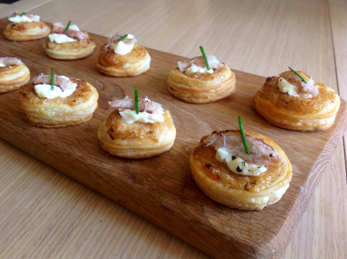 Crab canap s baking fanatic for Canape recipes