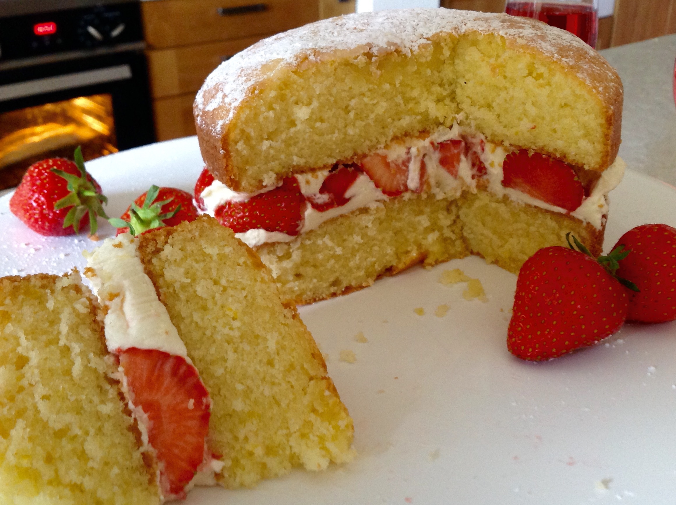 Gluten Free Chocolate Victoria Sponge Cake Recipe