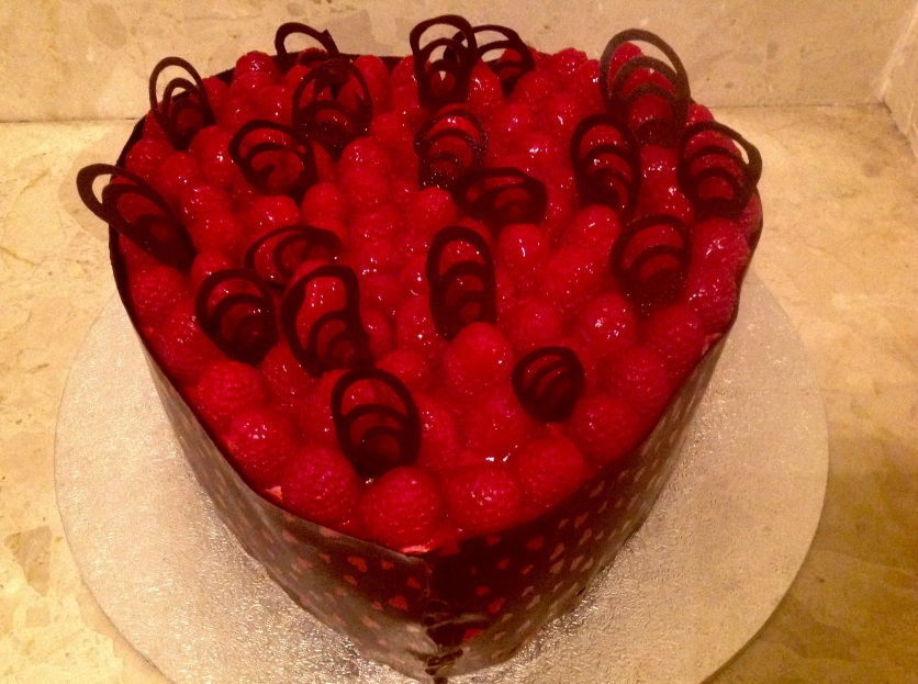 Valentine's cake