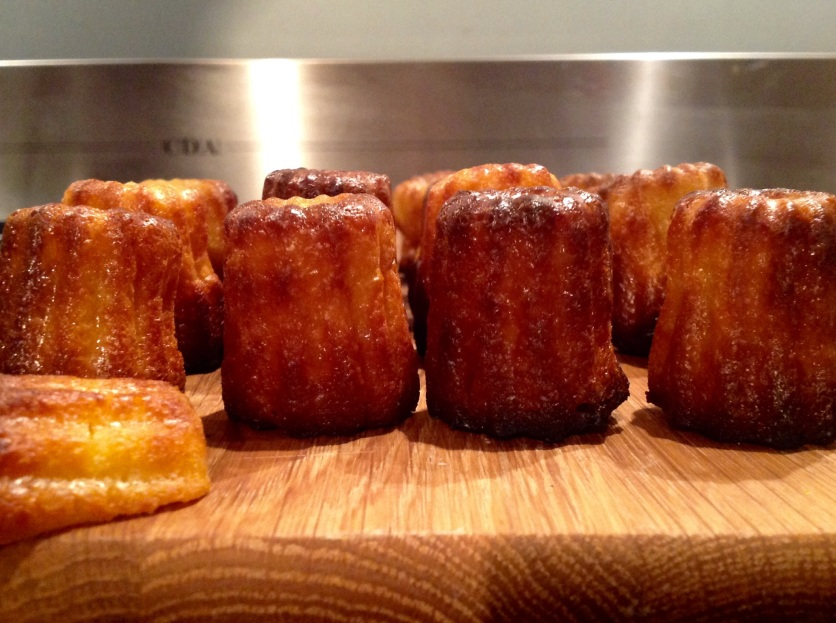 Lemongrass & ginger canelés