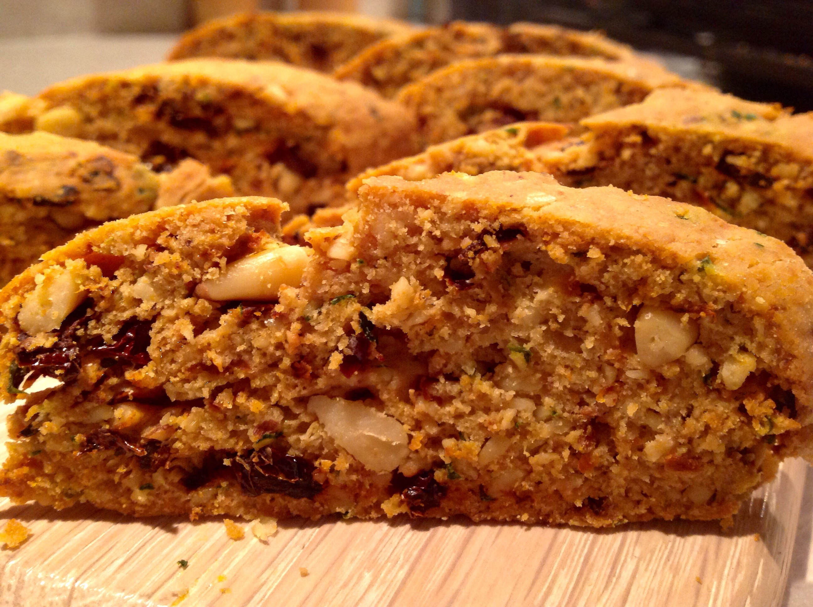 Two flavours of savoury biscotti – Baking Fanatic