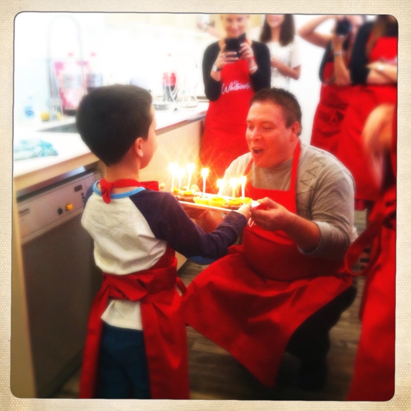 A birthday treat: it made the day even more special