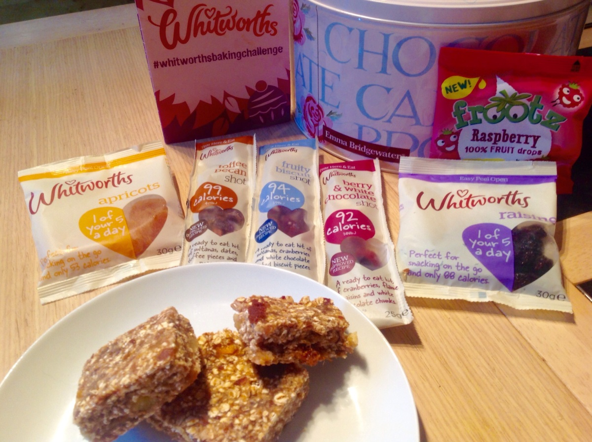 Whitworths Blogging Event: fruiting, chatting, baking & tiffin!