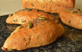 multi-grain bread made with smoked flour