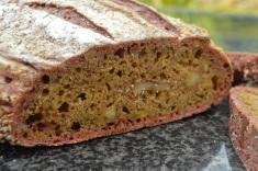 Beetroot & walnut sourdough