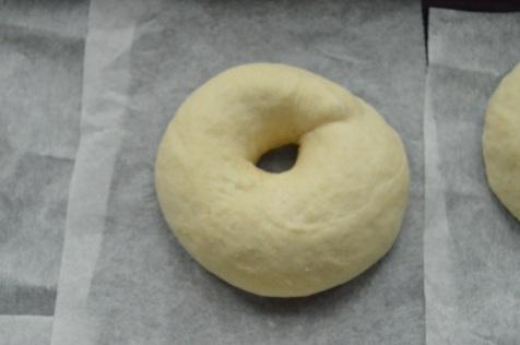 plain bagel dough