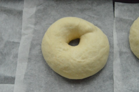 plain bagel dough
