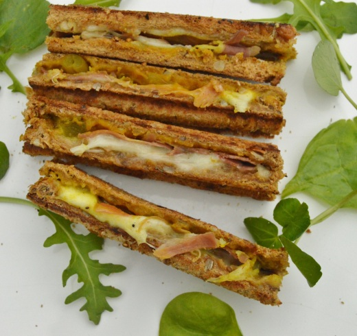 toasted sandwich fingers as an Afternoon Tea variation