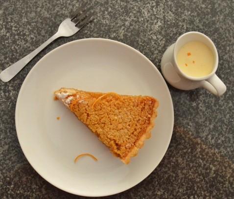 treacle tart with a hint of orange