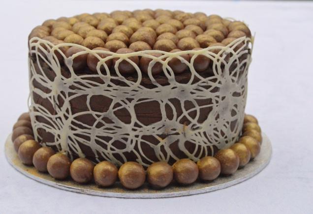 Maltesers birthday cake