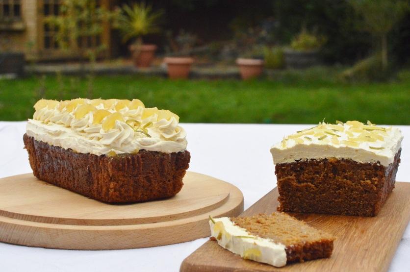 stem ginger and lime cake