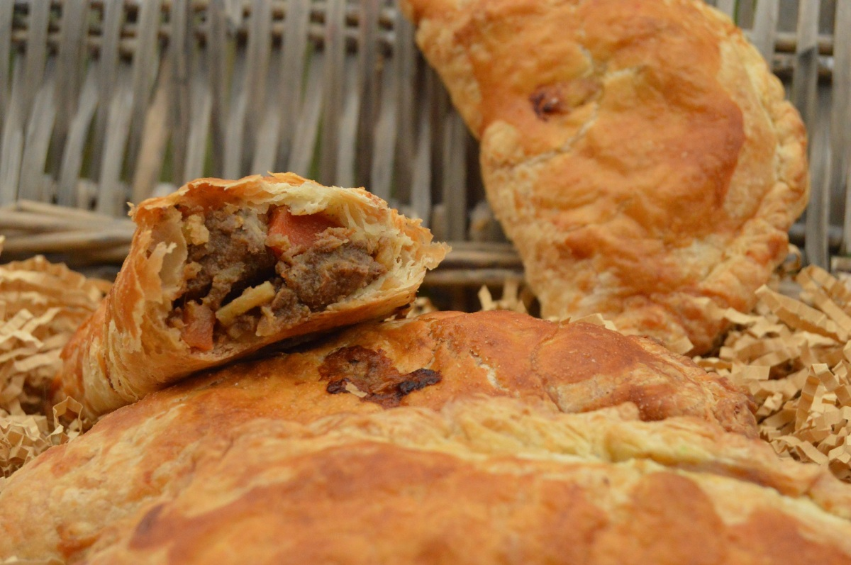 Beef & ale Cornish pasties