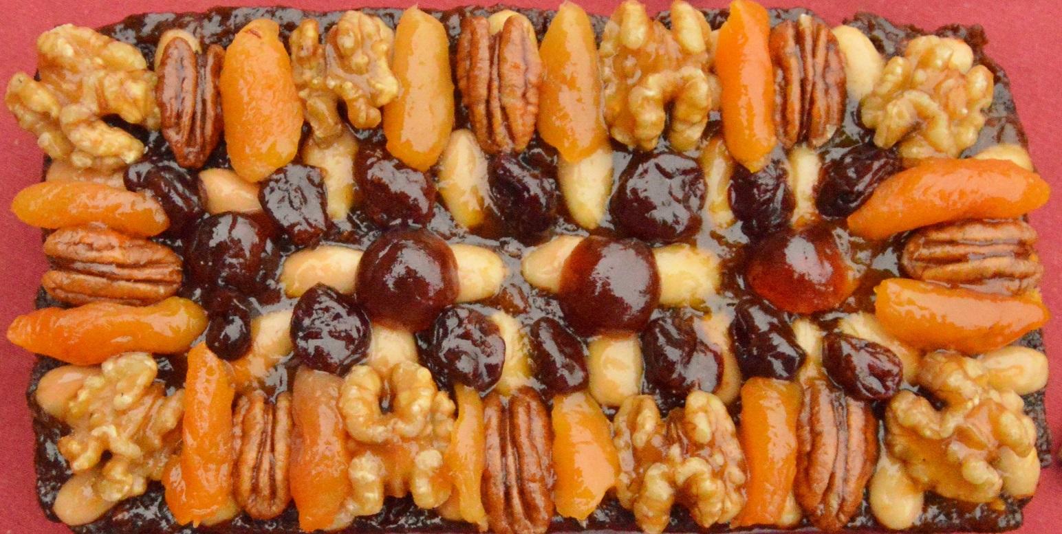 Glazed Fruit Amp Nut Vegan Christmas Cake Phil S Home Kitchen