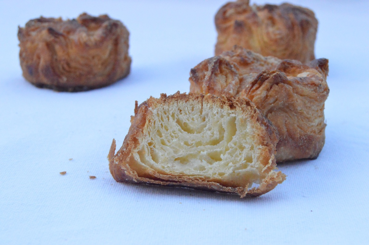 Kouign-Amann pastries: shortcut method