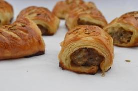 chorizo & fennel sausage rolls
