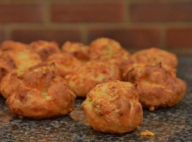 Gougères: simple to make and always a delight to eat!