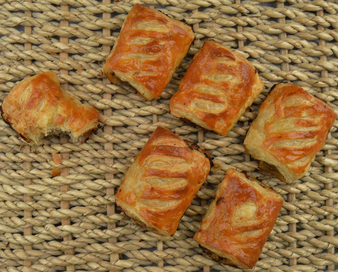 The very best sausage rolls……..