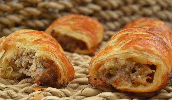 sausage rolls: the simplest of foodie pleasures!