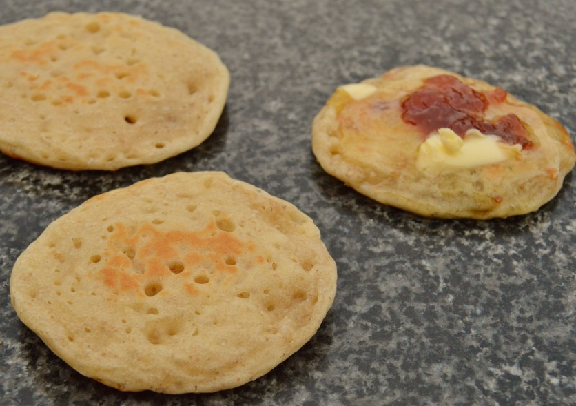 sourdough pikelets