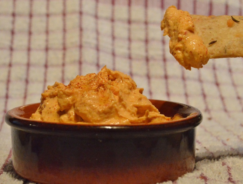 caraway, walnut & cheese biscuits: great with a spicy dip