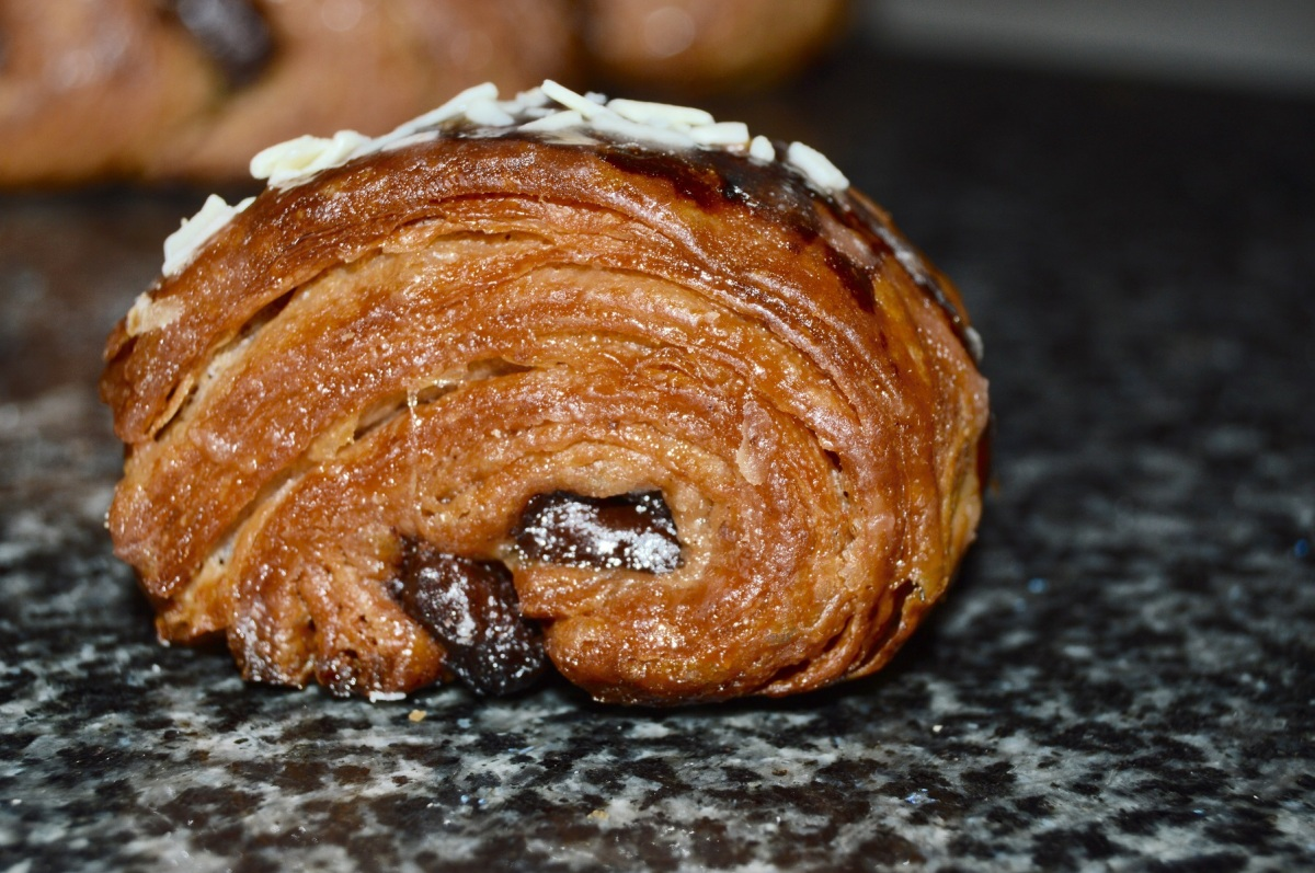 Easy chocolate & ginger viennoiserie