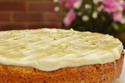 Galangal and lime cake