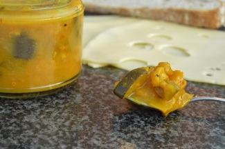 Piccalilli: perfect just with bread and cheese!