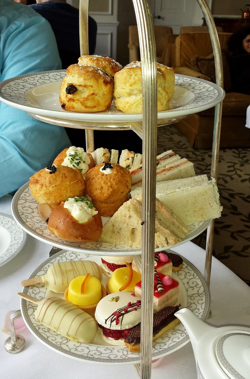 Afternoon Tea review: The Four Seasons, Dogmersfield, Hampshire