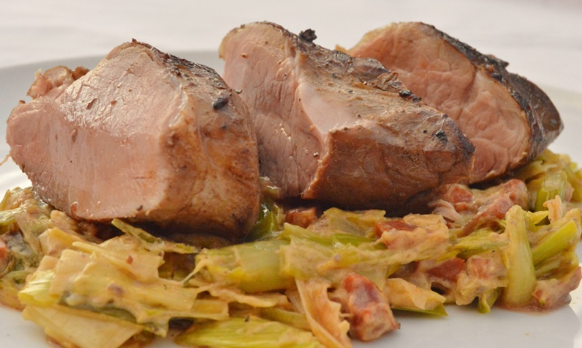 Pork tenderloin: succulent and full of flavour