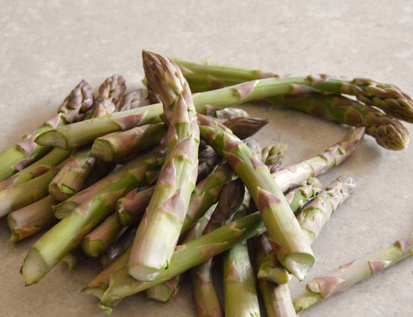 Freshly picked asparagus: makes a great recipe even more special