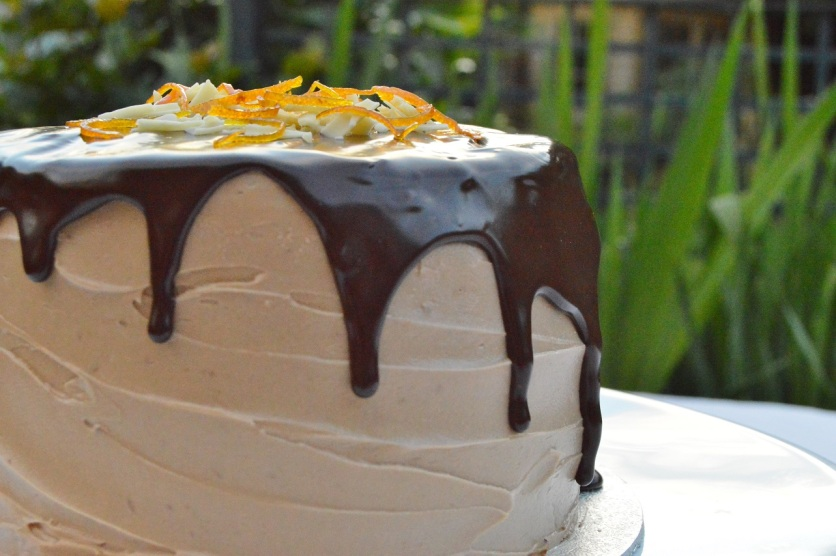 chocolate, cake, cakes, sponge, orange, ganache, drip, dripcake, caramel, baking, cooking, food, foodie, recipe, homecook, bbc1, philip, philip friend, philipfriend, uk