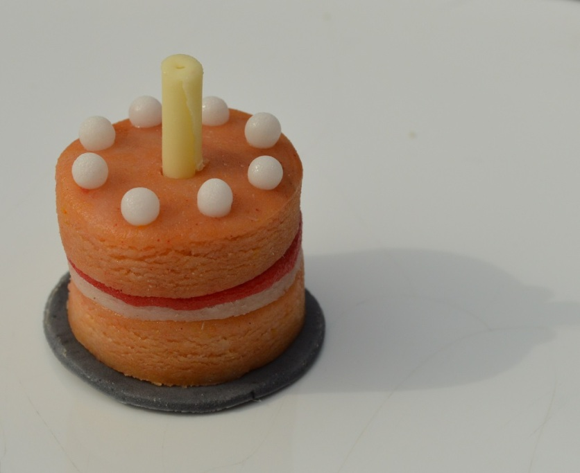 """cake"": marzipan and white chocolate!"