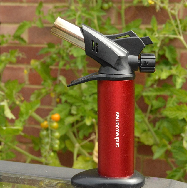 The new Andrew James Chef's blowtorch: product review
