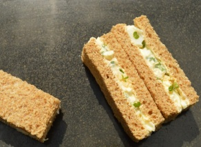 The simple joy of egg & cress sandwiches