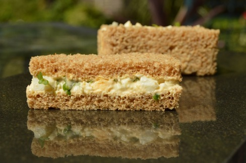 Egg & cress sandwiches