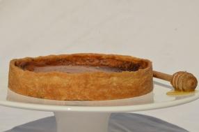 Salted honey tart