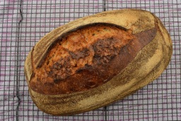 Sourdough loaf with a little wholemeal flour
