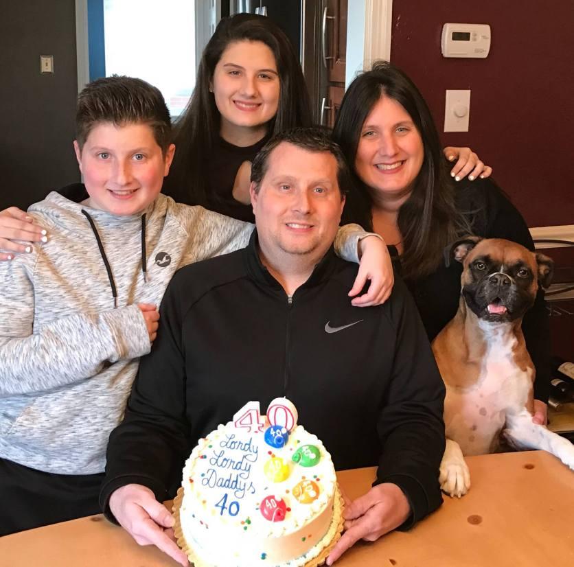 Joe Hughes and Family