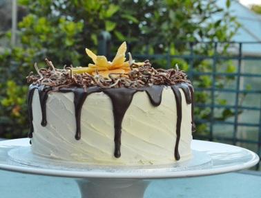 """Death by Chocolate"" drip cake"