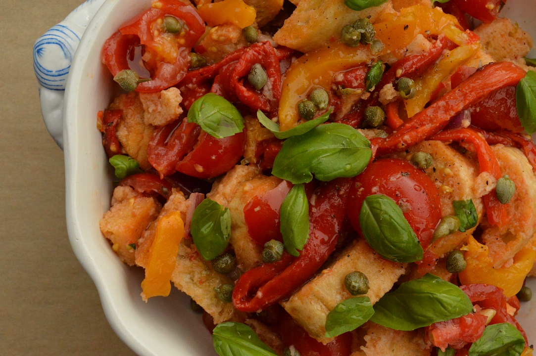 Panzanella: arguably one of the finest salads in the world!
