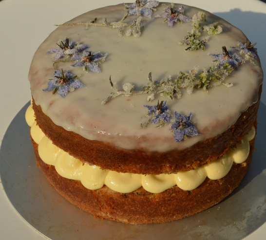 poppy seed, lemon and thyme cake