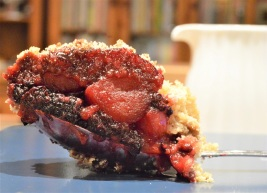 blackberry and apple crumble