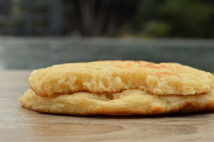 cheese and onion pikelets