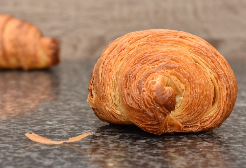 well-defined layers on croissants