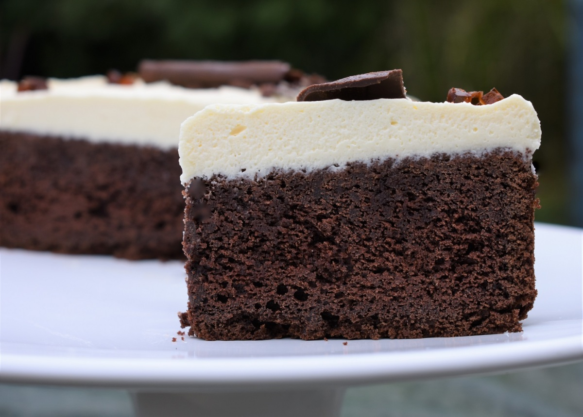 Guinness and chocolate cake