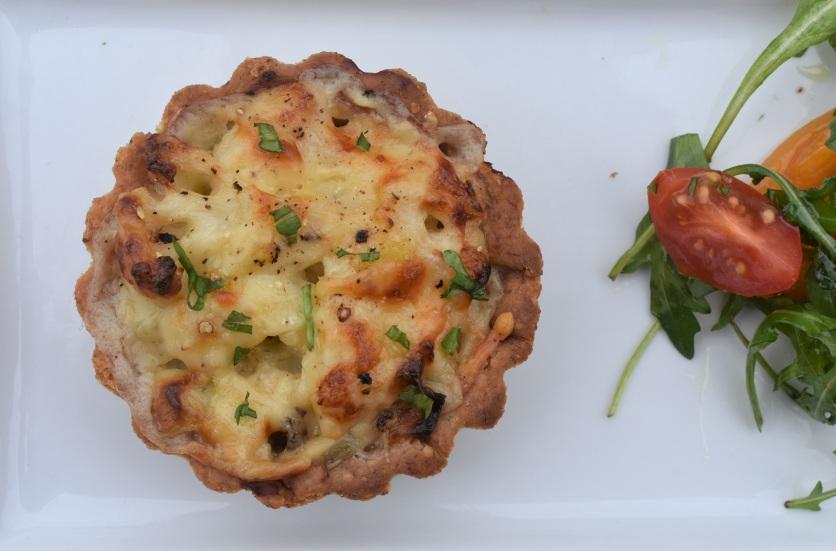cauliflower cheese tart
