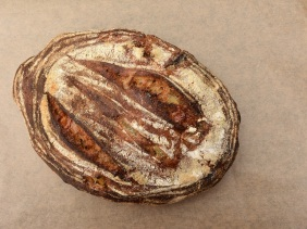 Pear & Parmesan sourdough bread